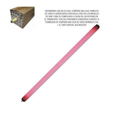 Tubo fluorescente 18w rojo t-8