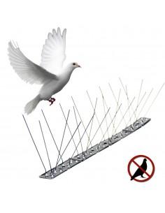 Disuasorio para aves inox varillas