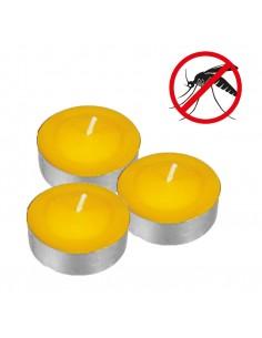 Vela calienta-vasos citronela (pack 15 unid.)