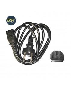 Cable ordenadores de 1,50mts edm