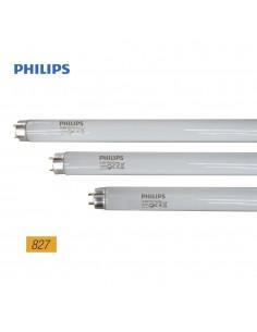 Tubo fluorescente 18w trifosforo 827k philips
