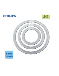 Tubo fluorescente circular 22w trifosforo 865 ø 21cm philips