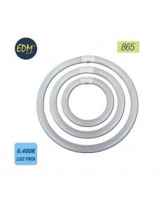 Tubo fluorescente circular 40w trifosforo 865k edm ø 40cm