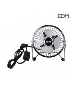 Mini ventilador industrial 20w ø10cm aspas 1,4 m3/min edm