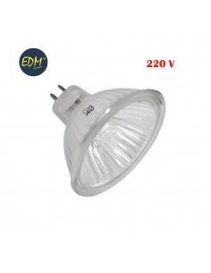 Bombilla halogena dicroica 220-240v 50w apertura 60º  edm