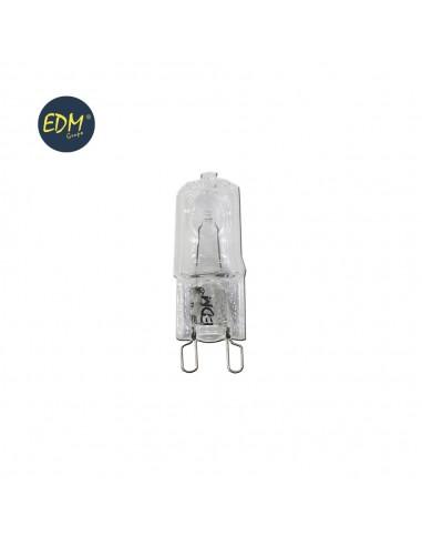 Bombilla halogena g-9  60w clara 220/240v edm