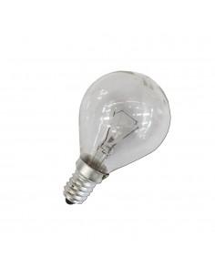 Bombilla esferica clara 60w e14 (solo uso industrial)