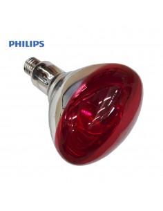 Bombilla par infrarrojos - 250w - e27 - roja (terapeutica) - philips