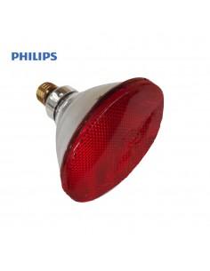Bombilla par infrarrojos - 100w - e27 - roja (terapeutica) - philips