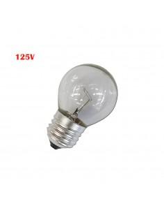 Bombilla esferica clara 40w e27 125v (solo uso industrial)