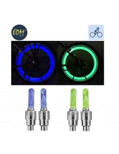 Tapones señalizadores para rueda bicicleta (pack 2unid.)