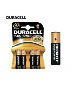 Pila duracell plus  lr06 aa (blister 4 pilas)