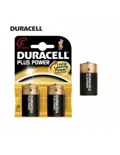 Pila duracell plus  lr14 c (blister 2 pilas)