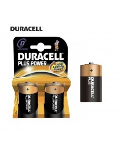 Pila duracell plus lr20  d (blister 2 pilas)