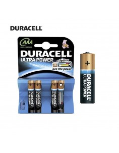 Pila duracell ultra power  lr-03  aaa (blister 4 pilas)