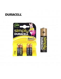 Pila duracell simply  lr3 aaa (blister 4 pilas)