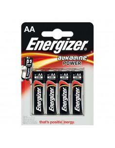 Pila energizer alkaline power lr6 aa (blister 4 pilas)