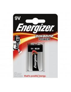 Pila energizer alkaline power 6lr61 9v (blister 1 pila)