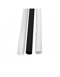 Funda termoretractil ø9,5mm 1mts negro