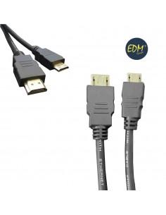 Cable hdmi macho a mini hdmi macho 1.5m