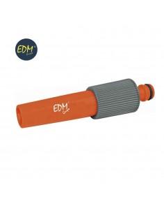 Lanza de riego regulable con enchufe (blister) edm