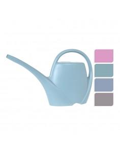 Regadera de plastico 1,7 litro colores surtidos