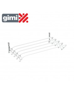 Tendedero extensible de pared brio super 100 gimi 155960