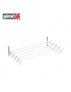 Tendedero extensible de pared brio super 120 gimi 155961