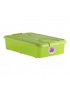 Caja 60l. bajo cama pistacho 80x50x18cm