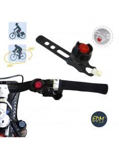 Linterna de señalizacion para bicicleta led rojo