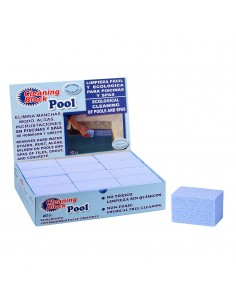 Pack 12 cleaning block piscina
