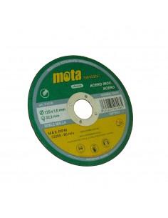 Disco corte a inox 115x1.6x22.23mm d1116