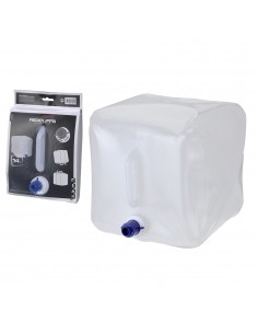 Deposito de agua de plastico para camping 14l