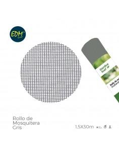 Rollo mosquitera  gris 1,50x30mts