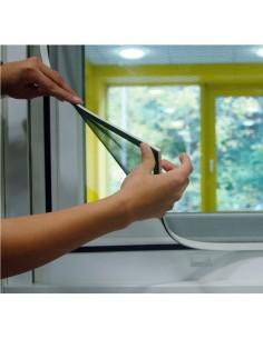 Mosquitera con marco magnetico blanco medidas: 100x120cm