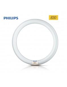 Tubo fluorescente circular 32w trifosforo 830k philips ø 30cm