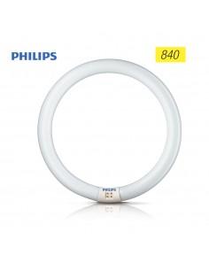 Tubo fluorescente circular 22w trifosforo 840k philips ø 21cm