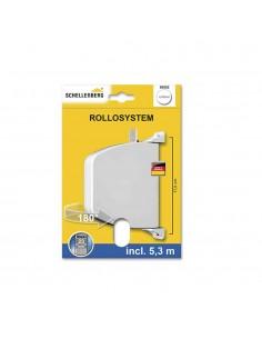 Recogedor exterior abatible 34x188x156mm mm blanco giratorio 180º