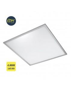 Panel led medidas: 60x60x1cm empotrable 4.000k luz dia 3.400 lumens edm