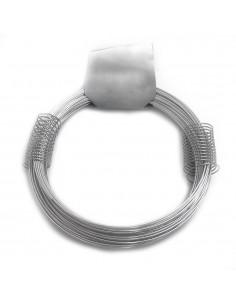 Alambre zincado nº 8 - 1,30mmx20m - 200g