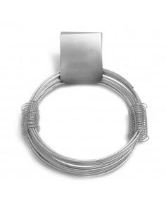 Alambre zincado nº 15 - 2,50mmx6m - 210g