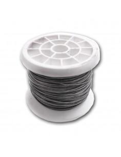 Alambre plateado bobina nº 6 - 1,40mmx50m