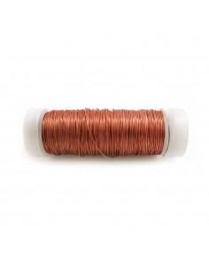 Alambre cobre 0,40mm - 50g con bobina