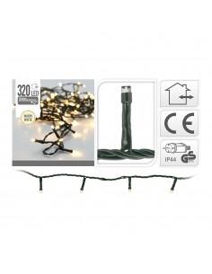 Guirnalda fija 320 leds luz calida 2700cm (ip44 exterior)