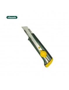 Cutter plastico h. 18 mm. traba a rueda  c118