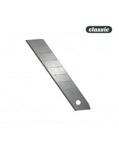 Hoja para cutter 18 mm. - blister x 10uni  c18