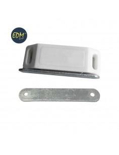 Iman para puerta blanco (dos piezas) 58x15mm