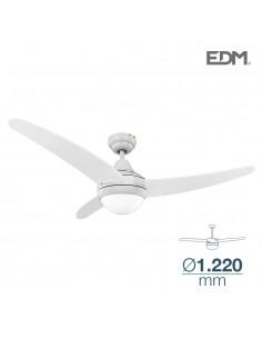 Ventilador de techo modelo egeo 60w ø122cm blanco 115m3/min edm