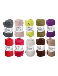 Manta de lana - (colores surtidos)