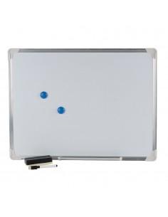 Pizarra blanca magnetica 45x60cm